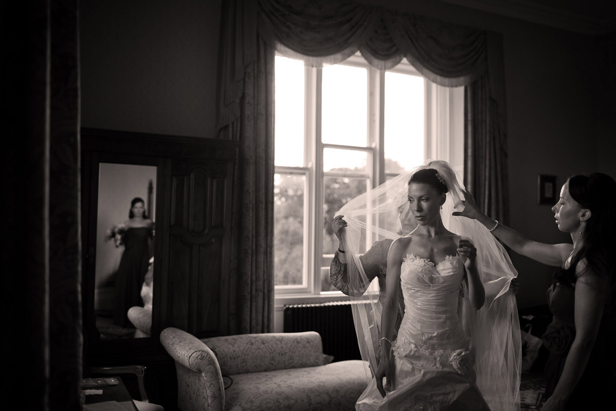 Wedding in Middleton Park House, Co Westmeath.